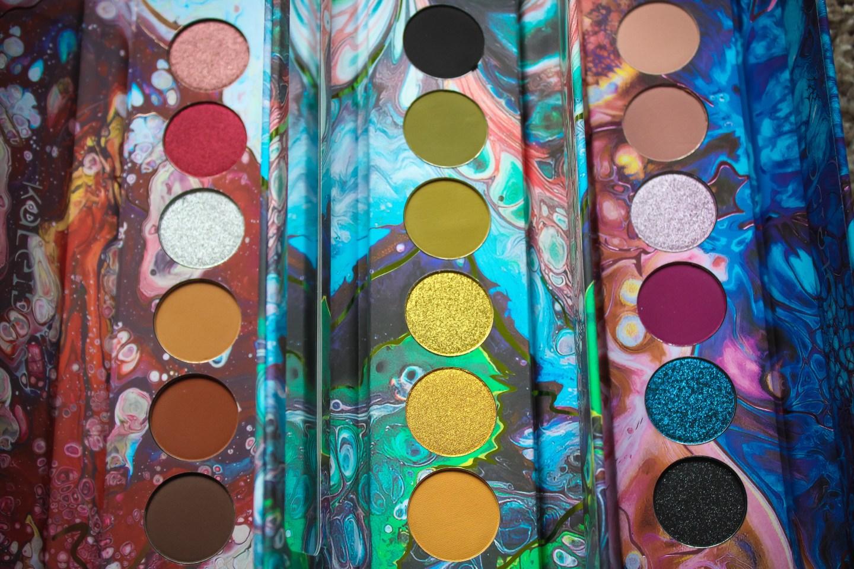 Kaleidos Makeup Futurism I-III Palettes Review 3