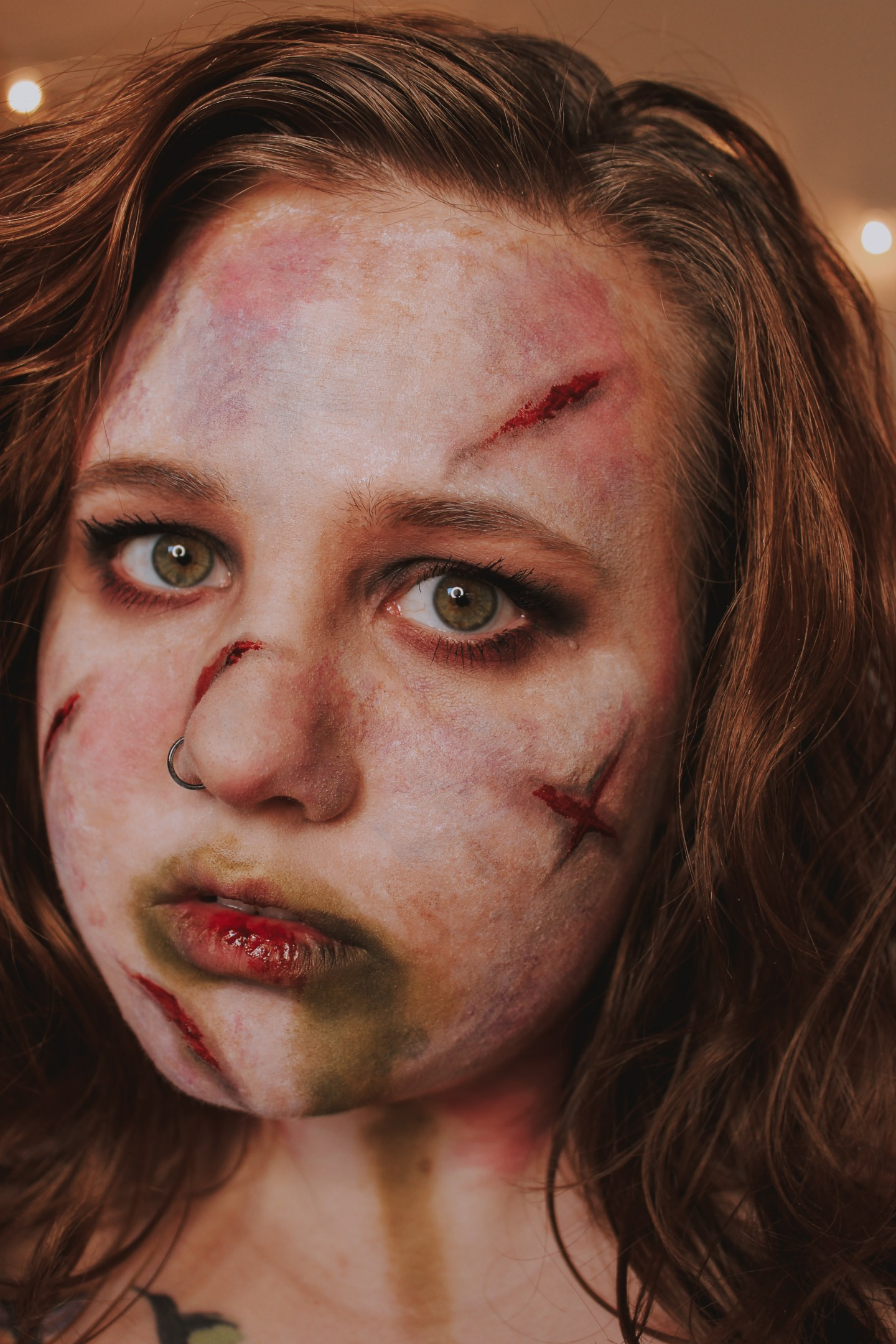 The Power of Christ Compels You! Regan from the Exorcist Inspired Makeup Look 8