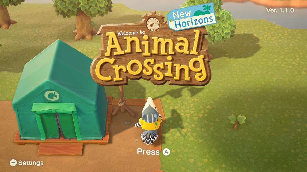A Beginner's Look at Animal Crossing New Horizons 1