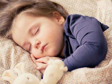 Crianças que acordam a noite