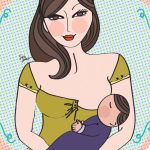 Tempo de mamada e troca de peito