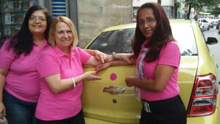 Mulheres taxistas se organizam