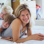 Mães que trabalham em casa