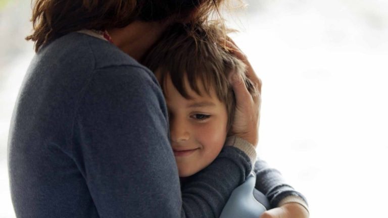 Como acalmar o filho
