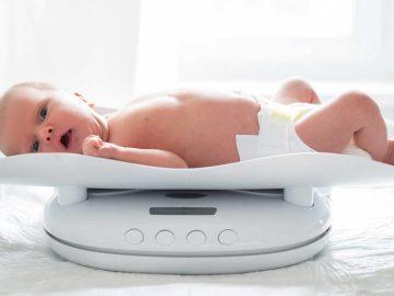 Curva de peso e crescimento do bebê