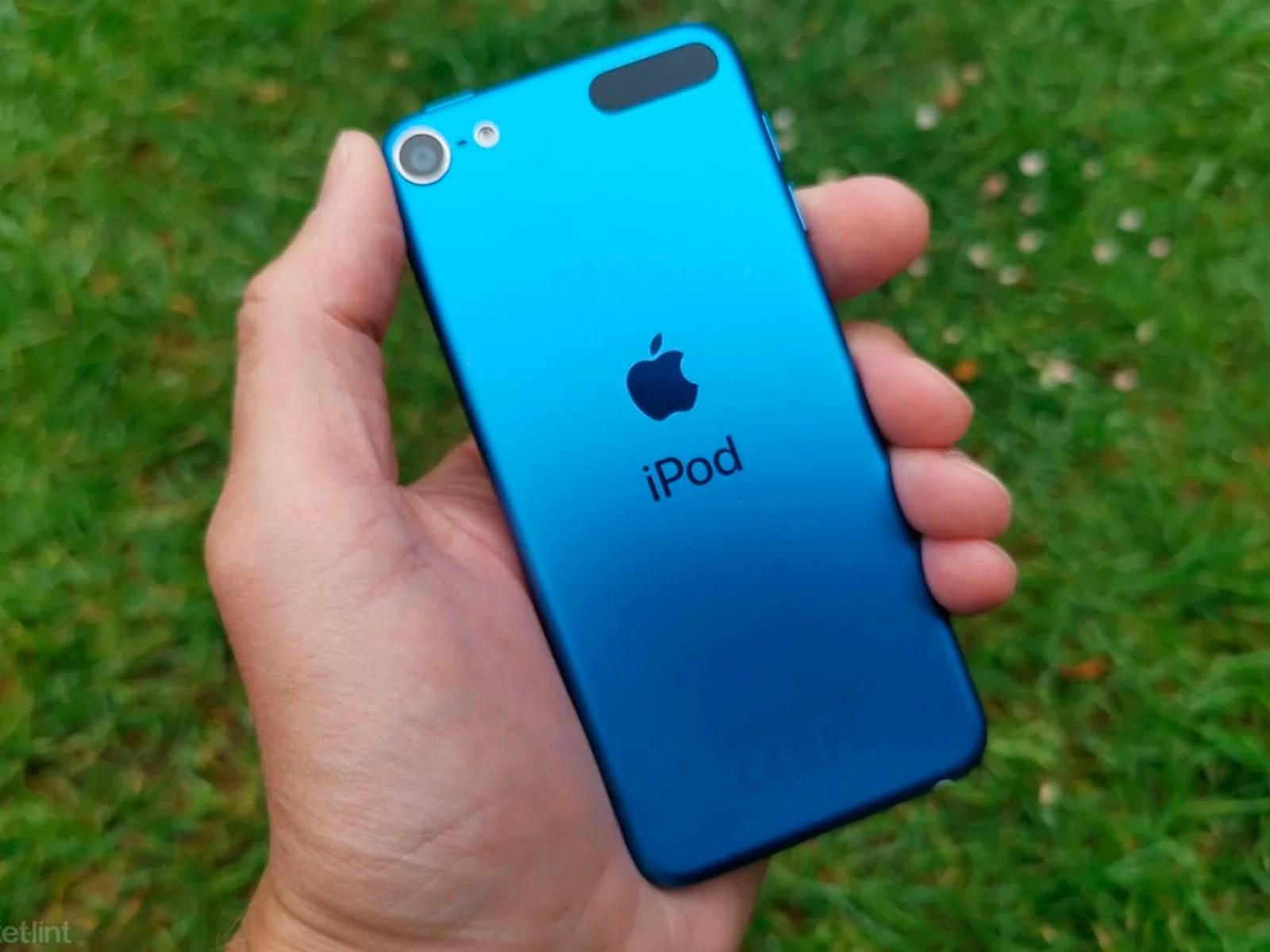 Cambiar la batería de iPod Touch