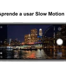 Hacer un selfie en slow motion con iPhone