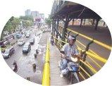 Kendaraan Roda Dua Masuk Gedung Parkir Abu Bakar Ali Yogyakarta