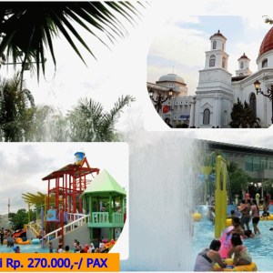 One Day Trip Semarang Waterblaster