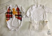 Festa Junina Ideias para customizar bodys e camisas infantis