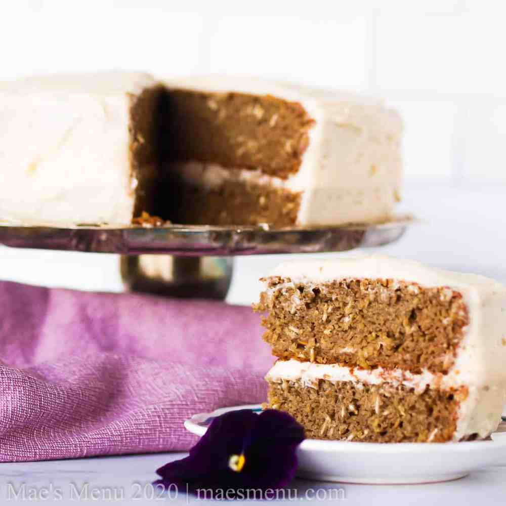 Banana Oatmeal Cake Recipe (Gluten-Free & Lower Sugar!)