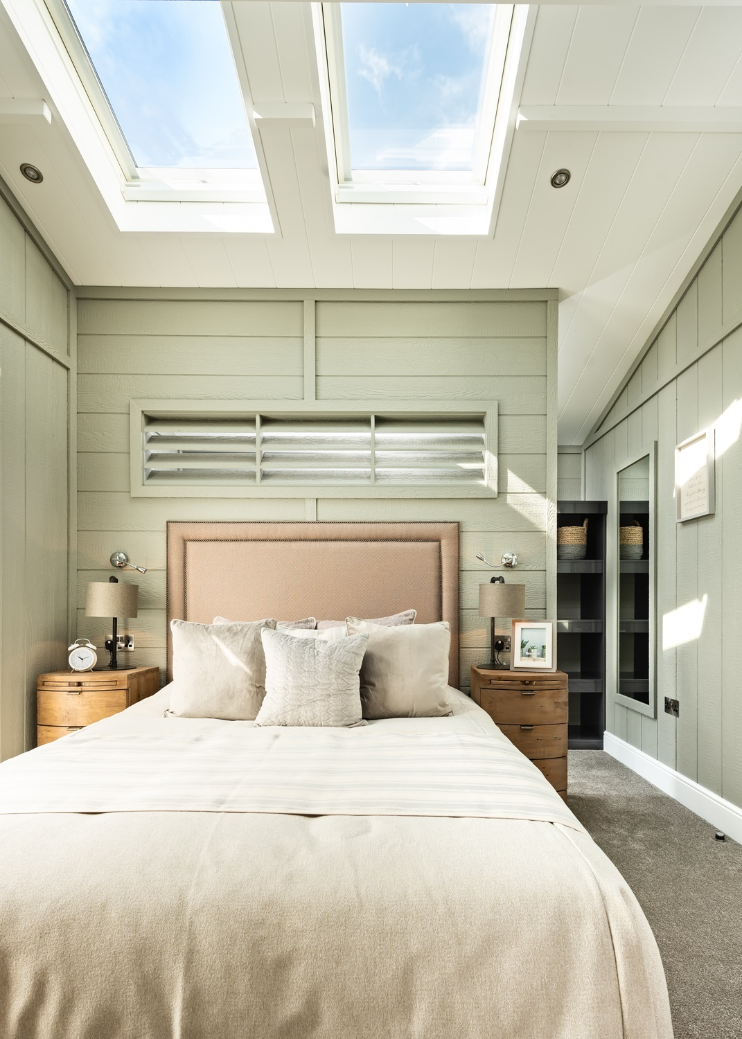 The Glass House Lodge Master Bedroom