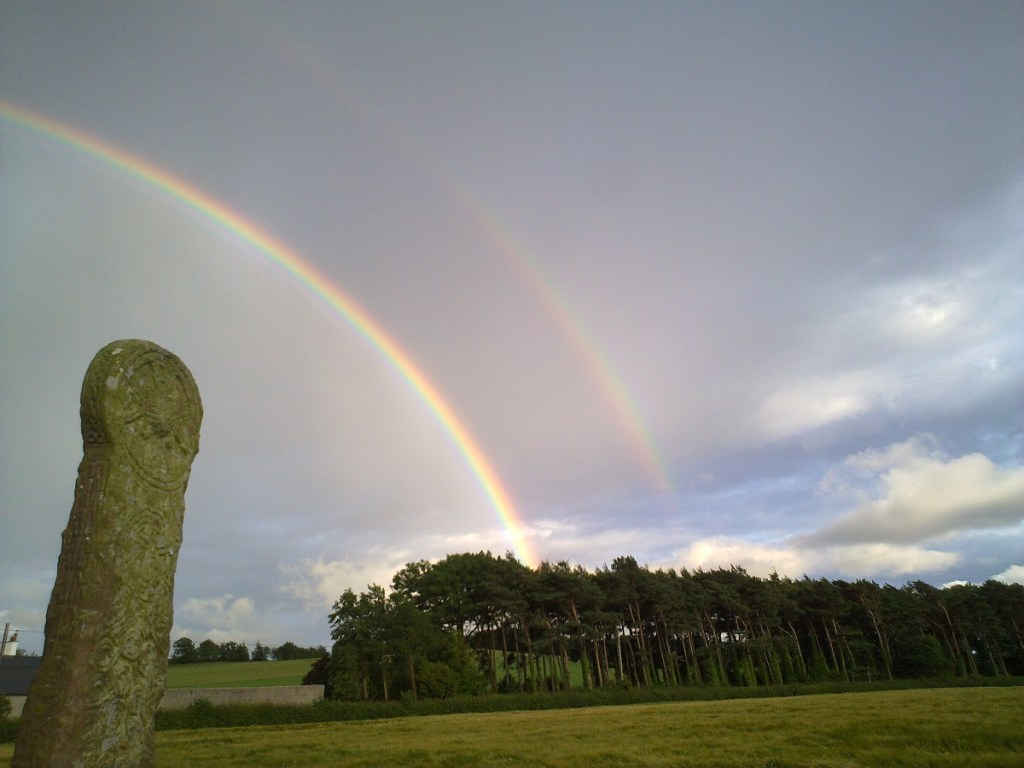 Planet Tree Adventures explores standing stones at Maen Achwyfan