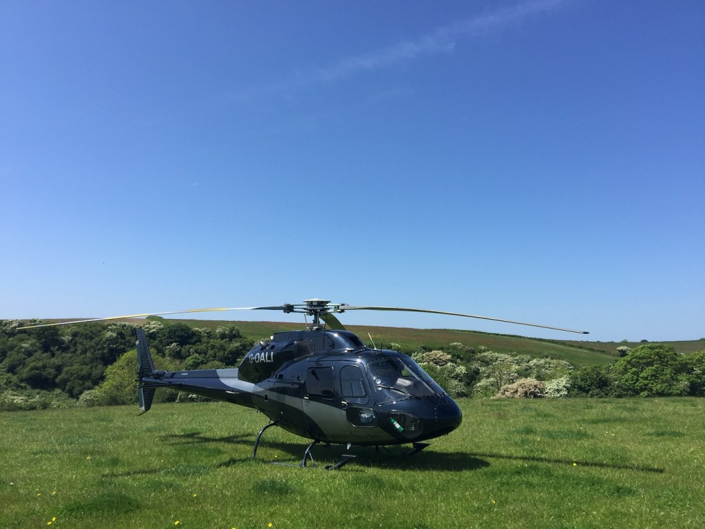Atlas Helicopters - Charter flights to Maes Mynan Holiday Park  available