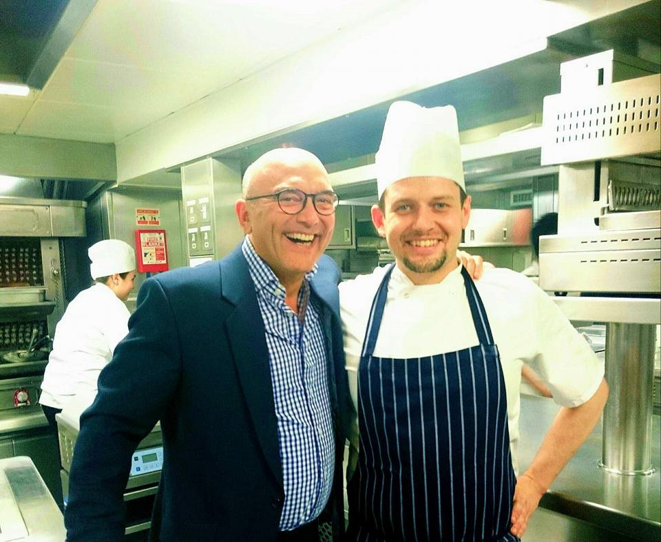 Dudley-Savva-with-Greg Wallace master chef