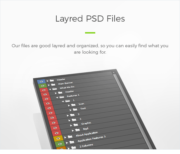Layred PSD Files