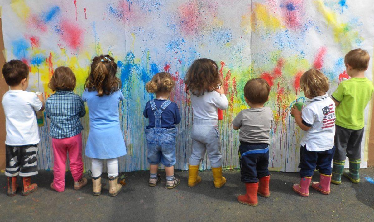 Laboratorio d'arte per bambin