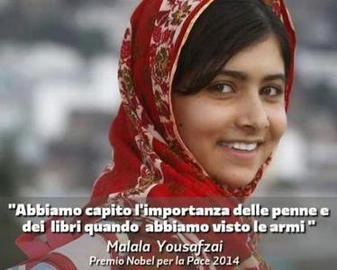 Malala parole poesia