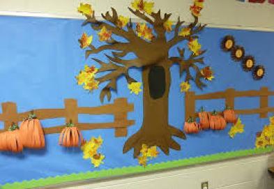Autunno: pannelli per decorare l'aula