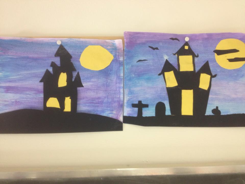 Halloween: pannelli e disegni per decorare l'aula