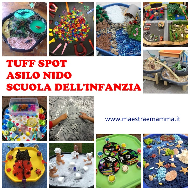 vasche sensoriali asilo nido scuola infanzia