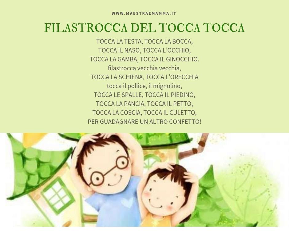 Filastrocca TOCCA TOCCA