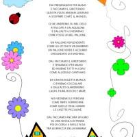 Il girotondo - poesia per l'accoglienza o per il progetto continuità