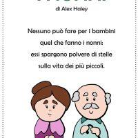 """""""I nonni"""" di Alex Haley - poesia per la festa dei nonni"""