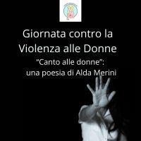 Giornata contro la Violenza alle Donne. Poesia di Alda Merini