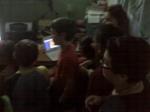 en clase de Nativos digitales con www.depampanito.com