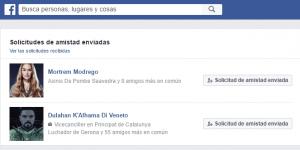 Facebook solicitudes amistad enviadas