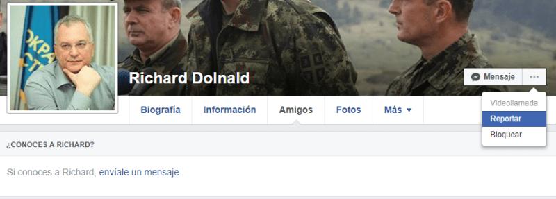 Cómo denunciar un perfil falso en Facebook