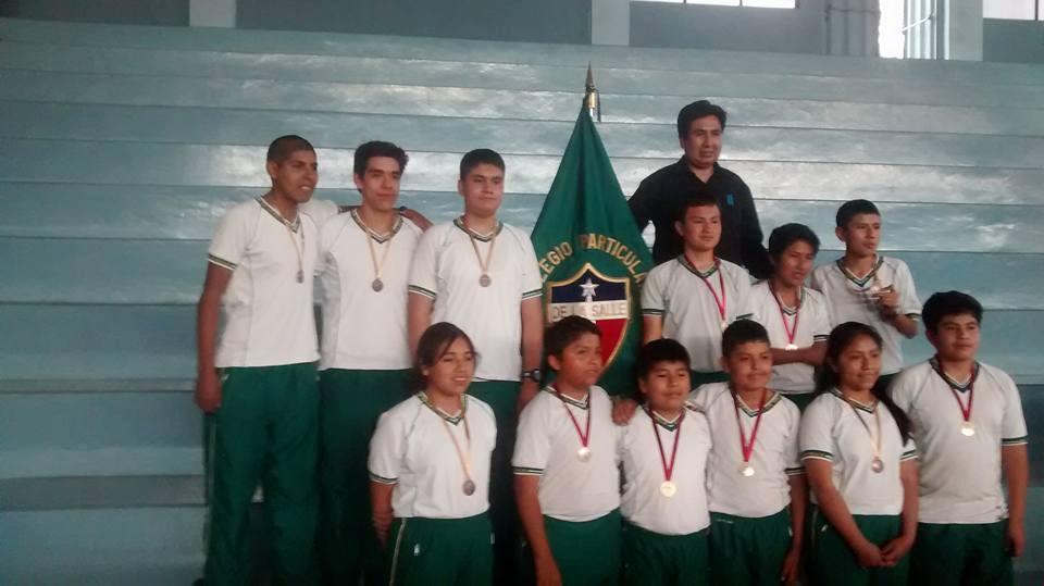 De la Salle Campeón Infantil C varones 2016