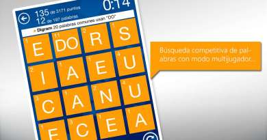 Wordament el juego de palabras para la familia y la escuela