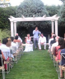 Ceremonia de boda finca privada