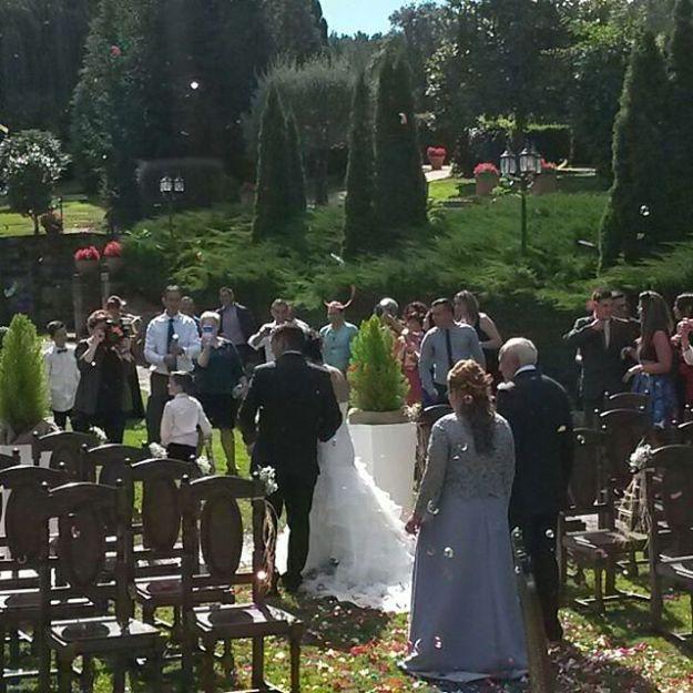 Ceremonia Simbólica laica de celebración de boda civil en #casaquiteliña Chantada, Lugo, Galicia.
