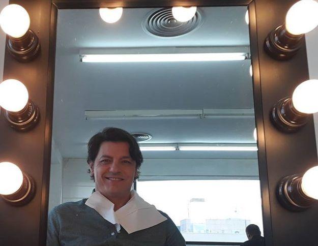 Maquillaje pre rodaje de video para El Corte Inglés. #actorespañolWww.guillermocasta.comTel. 644 597 199