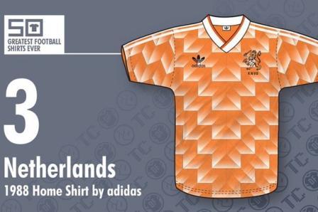 jersey bola Belanda 1988- buat jersey futsal