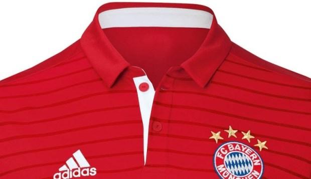 Kerah Jersey Bayern Munchen-Bikin Jersey Futsal Keren