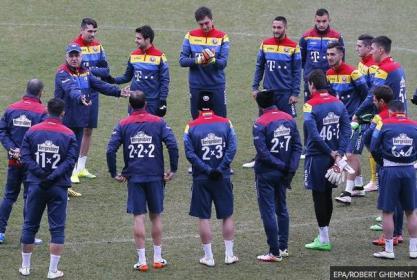 Jersey Rumania-buat baju futsal