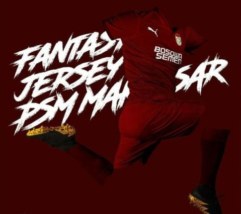 fantasy jersey PSM-buat jersey bola