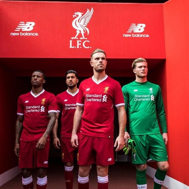 Jersey Liverpool-buat jersey futsal