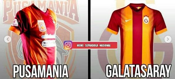 Buat jersey bola mirip dengan klub top eropa, ternyata juga dilakukan beberapa tim asal Indonesia