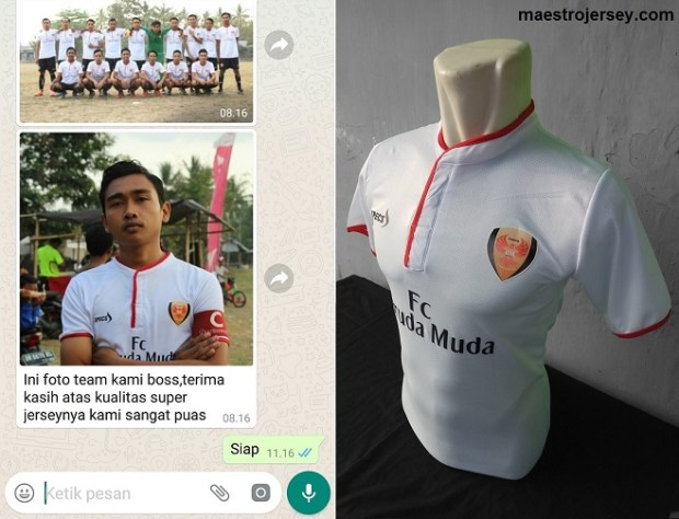 Testimoni Garuda FC NTB-buat Jersey Futsal Desain Sendiri
