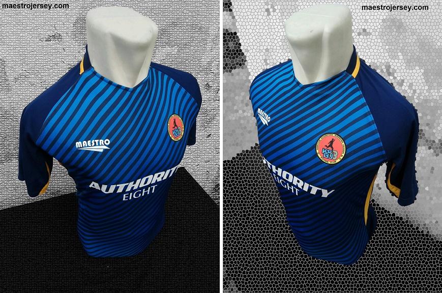jersey futsal printing desain sendiri KBU 8 FC Manado, sulawesi utara.