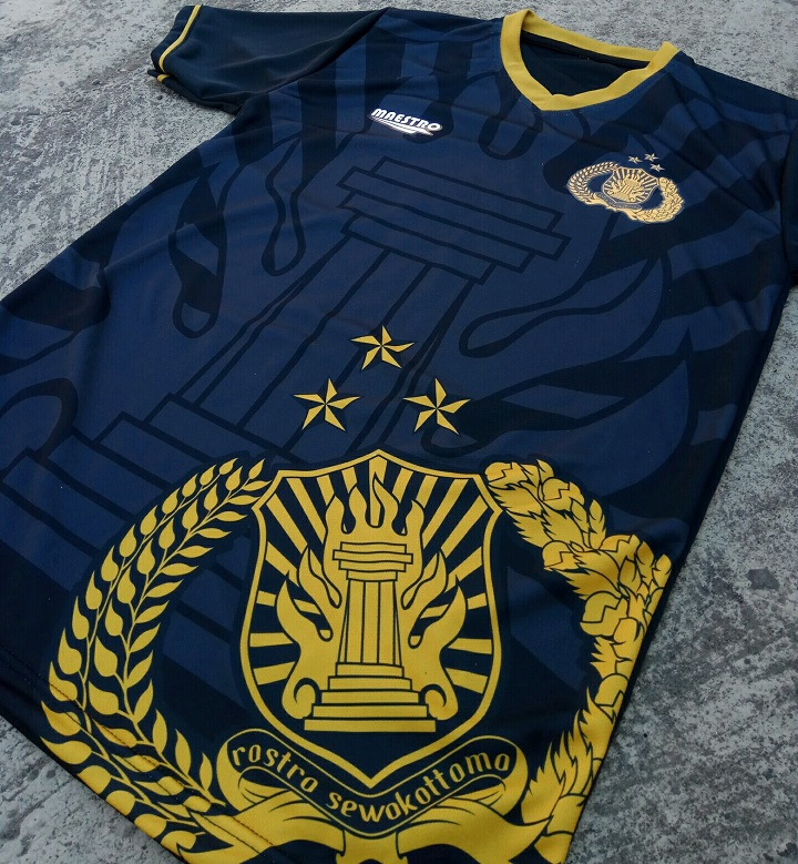 jersey futsal printing polisi