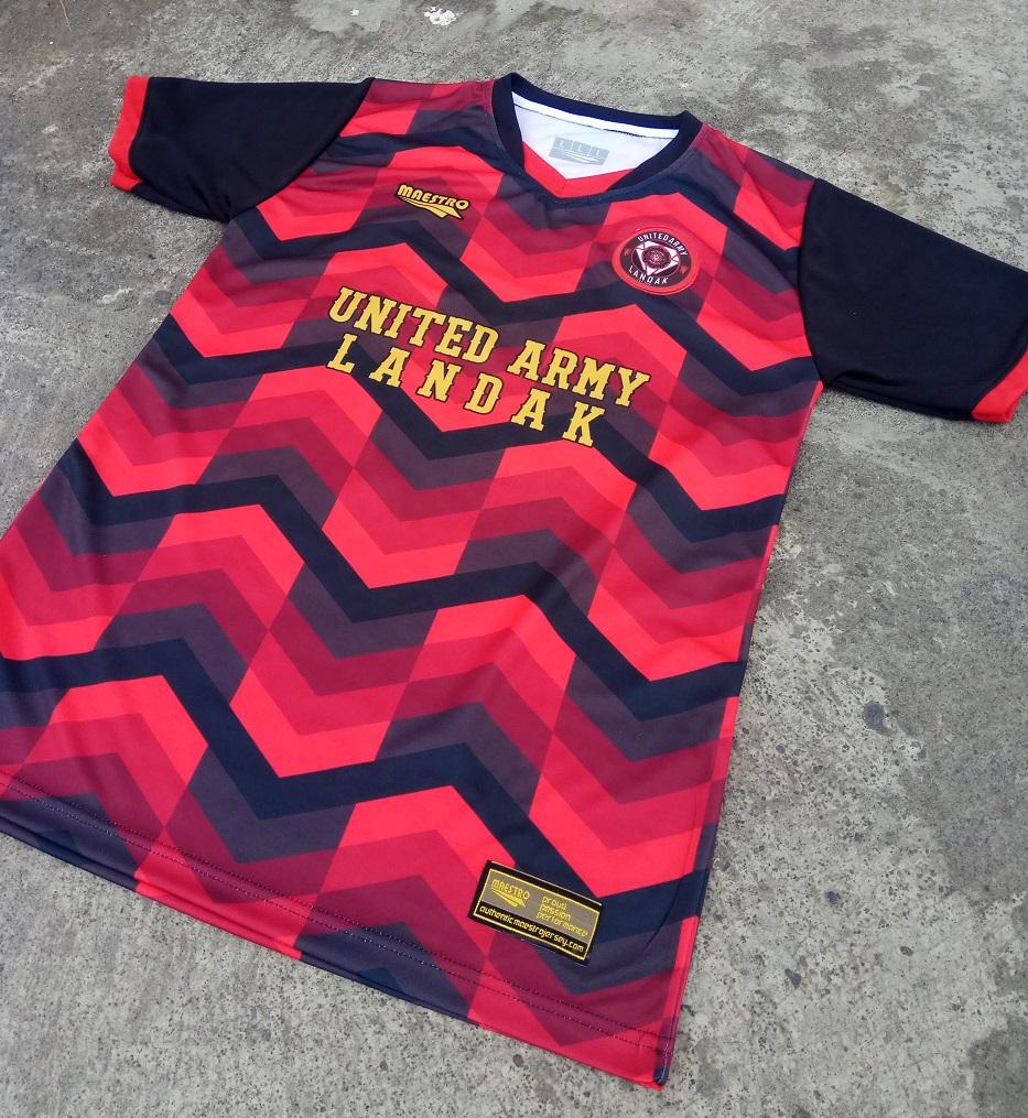 baju futsal united army