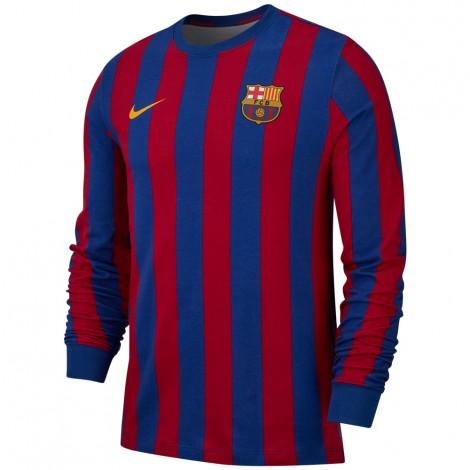 Desain Jersey Custom Barcelona Retro