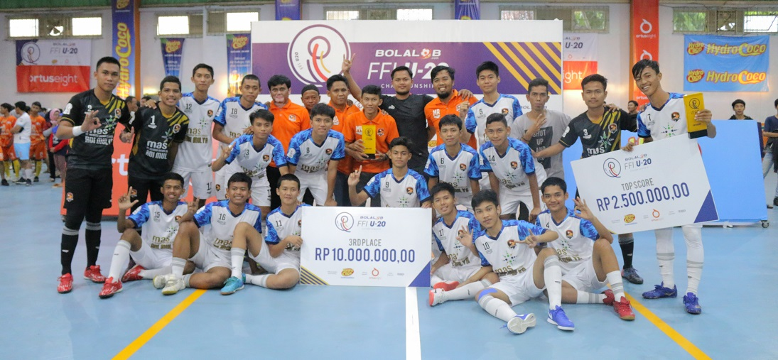 Kostum Futsal Young Rior FC