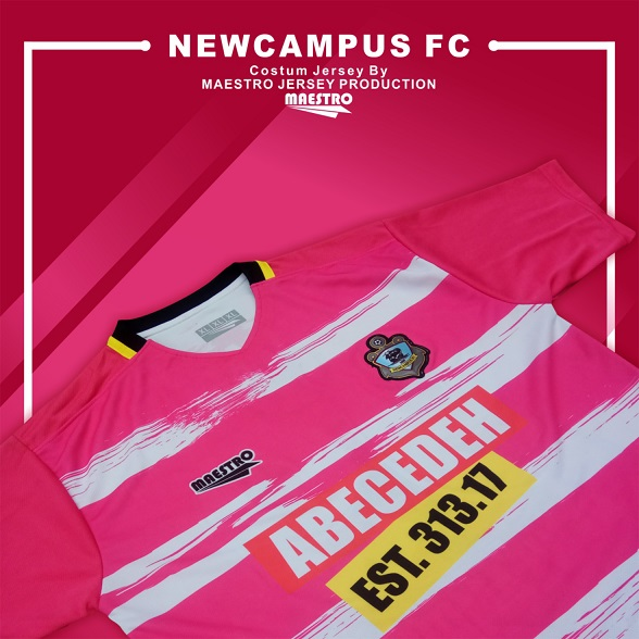 jersey printing new campus fc